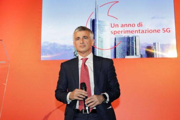 Vodafone presenta la sua rete 5G a Milano