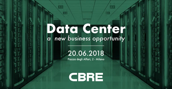 Workshop CBRE 'Data Center: a new business opportunity'